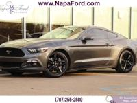 FORD CERTIFED PRE-OWNED 2016 Ford Mustang EcoBoost 2.3L