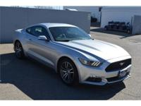 We are excited to offer this 2016 Ford Mustang. CARFAX