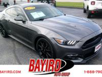 Check out this gently-used 2016 Ford Mustang we
