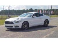 Bright White 2016 Ford Mustang RWD 6-Speed Manual 5.0L
