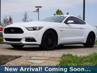 2016 Ford Mustang GT Premium in Oxford White, This
