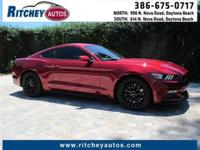 LOW MILEAGE 2016 FORD MUSTANG GT**CLEAN CAR FAX**ONE