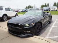 Black 2016 Ford Mustang GT Premium RWD 6-Speed Manual