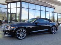 2016 FORD Mustang GT Premium Convertible... Black on