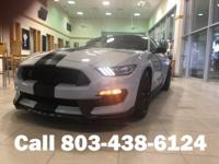 Clean CARFAX. Avalanche Gray 2016 Ford Mustang Shelby