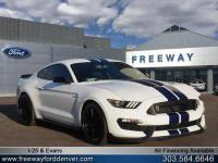 Oxford White 2016 Ford Mustang Shelby GT350 RWD TRACK