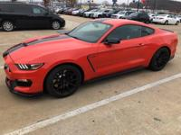 Recent Arrival! Ford Mustang Shelby GT350 Competition