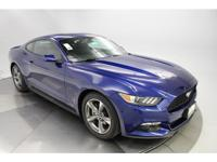 New Price! 2016 Ford Mustang EcoBoost Deep Impact Blue