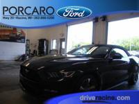 Options:  2016 Ford Mustang V6|Shadow Black|3.7L V6|2