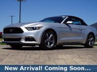2016 Ford Mustang V6 in Ingot Silver Metallic, This