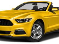 Options:  2016 Ford Mustang V6|6Spd! There's No
