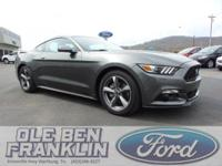 Options:  2016 Ford Mustang V6|Gray/|V6 3.7 L