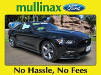 Options:  2016 Ford Mustang V6|New Price! Carfax