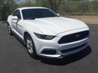 CARFAX ONE OWNER!! Mustang V6, 2D Coupe, 6-Speed Manual
