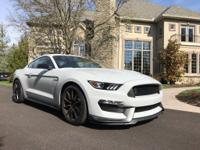Stunning avalanche gray 2016 Shelby GT 350. Very low