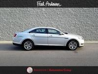 CARFAX One-Owner. Silver 2016 Ford Taurus Limited FWD