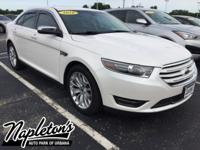 Recent Arrival! 2016 Ford Taurus in Oxford White,