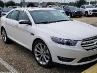White Platinum Metallic Tri-Coat 2016 Ford Taurus