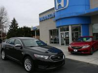 2016 FORD TAURUS LIMITED, V6, LEATHER, BACK-UP CAMERA,