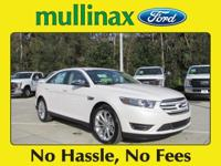2016 Ford Taurus Limited 27/18 Highway/City MPGAwards: