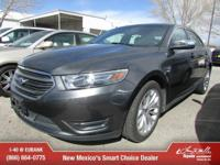 Options:  2016 Ford Taurus Limited|Limited 4Dr