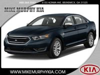 This 2016 Ford Taurus Limited includes a backup sensor,