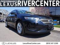 CARFAX One-Owner. Clean CARFAX. Black 2016 Ford Taurus