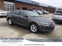 CARFAX One-Owner. Clean CARFAX. Gray 2016 Ford Taurus
