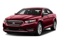 2016 Ford Taurus SEL Black 27/18 Highway/City MPG