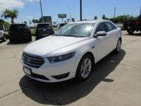 Options:  2016 Ford Taurus Sel|White Platinum Metallic