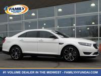 Check out this 2016 Ford Taurus SHO. Its Automatic