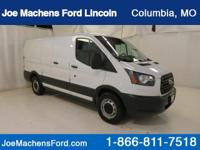 CLEAN CARFAX REPORT!  3D Cargo Van, RWD, Oxford White,