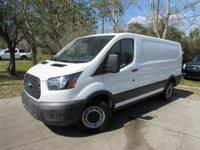 This 2016 Ford Transit Cargo Van 3dr T-150 130 Low Rf