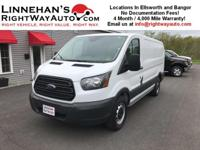 This is a nice Transit T150 Cargo Van with low miles