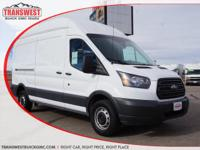 Options:  2016 Ford Transit-250 White|Leather|2016 Ford
