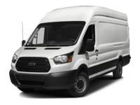 Options:  2016 Ford Transit Cargo Van|White/|V6 3.7 L