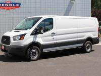 *Backup Camera* This 2016 Ford Transit Cargo Van 250 LR