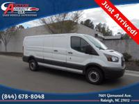 3D Low Roof Cargo Van, 3.7L V6, Remote Keyless Entry,