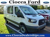 Transit Cargo Van trim, Oxford White exterior and