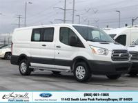 Dealer Certified Pre-Owned. This Ford Transit Cargo Van
