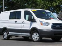 **WOW! FORD FACTORY CERTIFIED 2016 TRANSIT T-250 LOW