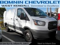 Options:  2016 Ford Transit-250 Base|White|**Clean