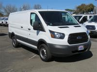Fuel efficient cargo van. When riding this van, the