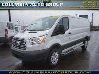 For a smoother ride, opt for this 2016 Ford Transit 250