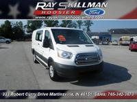 WAS $23,988. ONLY 10,687 Miles! Transit Cargo Van trim.