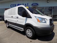 2016 Ford Transit 250 Low Rood Commercial Cargo Van!!