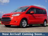 2016 Ford Transit Connect Titanium in Race Red, This