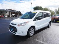 This 2016 Ford Transit Connect XLT features a rear air
