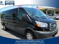 This 2016 Ford Transit Wagon T-350 148 Low Roof XL