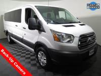 Ford Transit-350 XLT Low Roof Wagon with a 3.5L V6